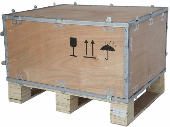 钢带箱便利、美观、可循环使用更符合现代物流需求